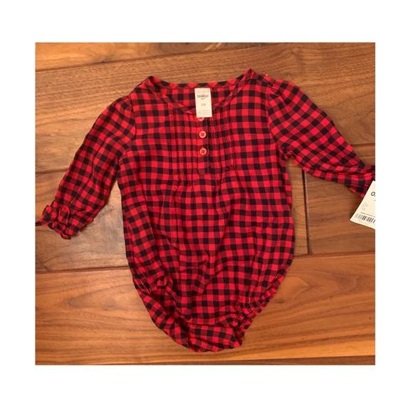 💖5/$22 SALE💖 Lumberjack Onesie NWT